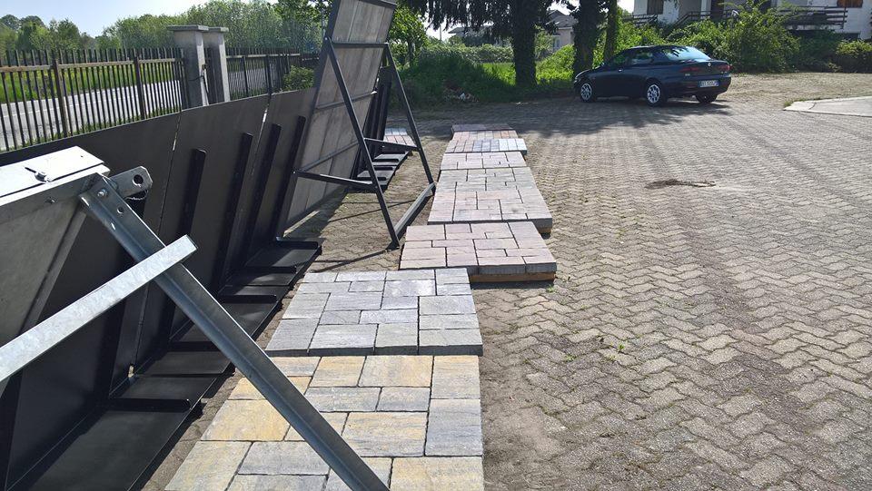 posa pavimentazioni esterne Cozza, posa autobloccanti, masselli, manuffatti in cemento, cubetti, Torino e provincia
